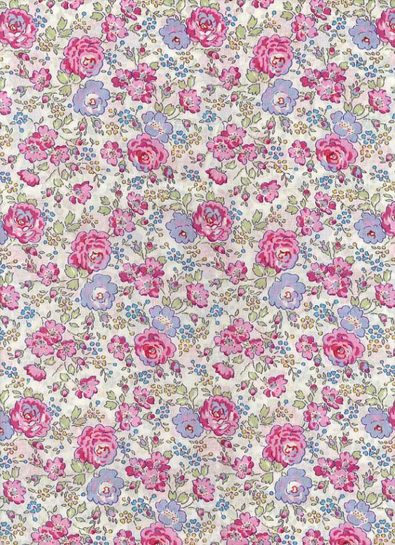 Fabric by Liberty of London tana lawn Felicite DISCONTINUED DESIGN  6x26