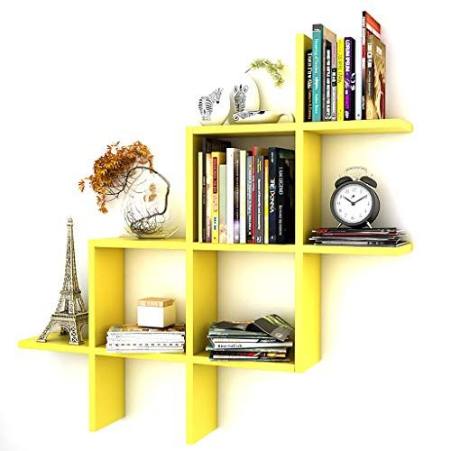 Bookshelf Book Stand Solid Wood Partition Wall Shelf Wall Cabinet Wall Hanging Wall Shelf Wall Stora Wall Storage Shelves Wall Storage Wall Shelves Living Room