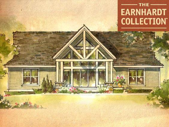 Cedar Springs Home Plan - Earnhardt Collection™ Schumacher Homes