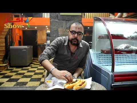 الطعم الأصلي للسجق والكبدة الأسكندراني من مطعم أبو اسكندر مع الحريف Food
