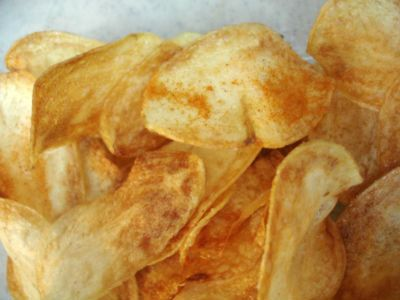 Potato Sweet Varuval Serve as a snack or as a side dish.