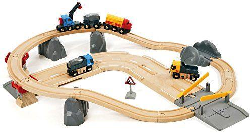 BRIO 33210 - Circuito tren con carreteras para camiones, IndalChess.com Tienda de juguetes online y juegos de jardin