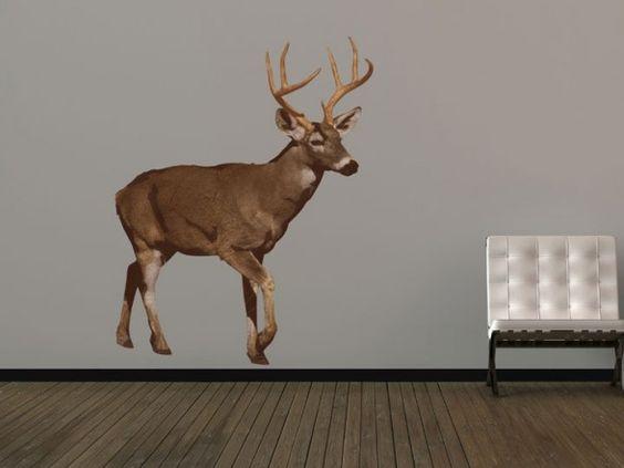 British Deer Wall Sticker