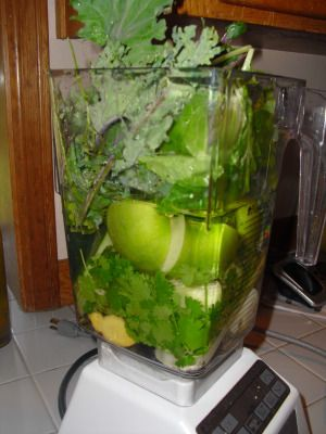 Maria's Fat Busting Green SmoothieRecipe - Recipes - The Green Smoothie Challenge