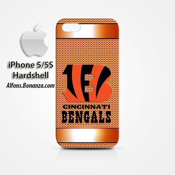 Cincinnati Bengals Custom iPhone 5 5s Hardshell Case