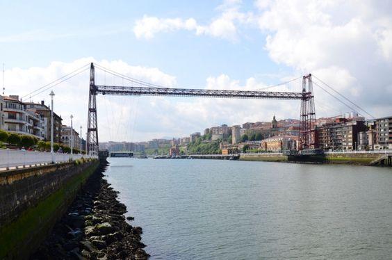 Puente colgante bilbao architecture basque country - Arquitectura pais vasco ...