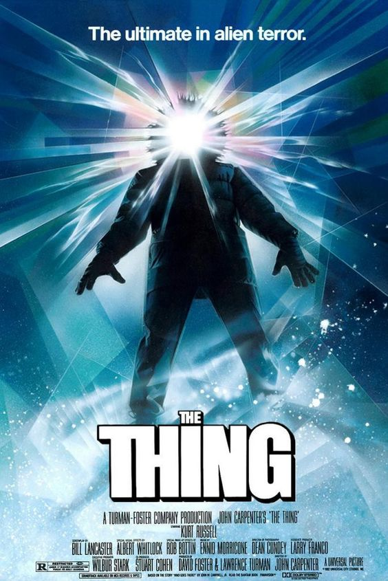 The Thing (1982) movie poster