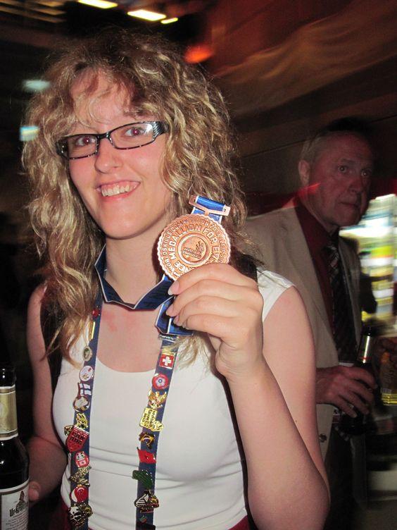 Medaillon d'honneur/ Leipzig, Worldskill 2013 web design Jessica Lapointe