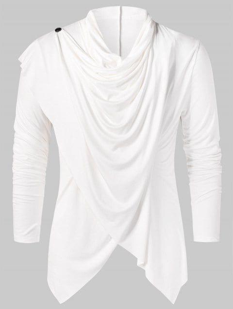 Convertible Asymmetrical Cardigan | Mens fashion cardigan