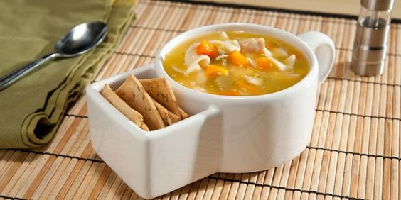 Soup Crock with Cracker Caddy