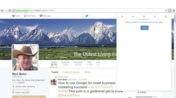 Twitter for Sales – The Agile CRM Way #Prospecting #LeadGenerator
