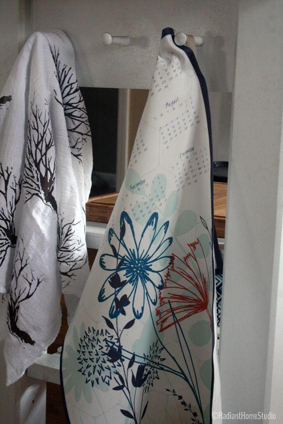 Finished Tea Towel Calendar   Radiant Home Studio