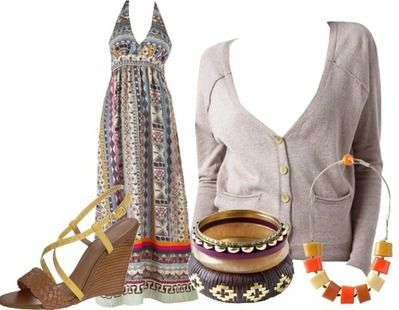 Casual outfit boho style