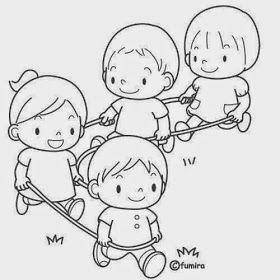 Dibujos Para Colorear Maestra De Infantil Y Primaria El Colegio Dibujos Para Colore Dibujo De Ninos Jugando Dibujos Para Ninos Imagenes De Ninos Estudiando