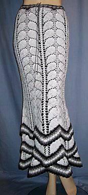Saia em crochê com gráfico.: Hook, Crochet Women S Dresses, Crochet Dresses, Crochet Clothes, Crochet Skirts, Crochet Knitting Skirt, Crochet Pattern, Crochet Clothing