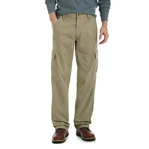25 99 Wrangler Authentics Men S Big Tall Classic Twill Relaxed Fit Cargo Pant Ropa