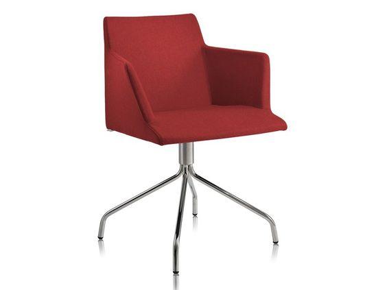 Cadeira com cavalete com braços BLOOM 1-P Coleção Bloom by CHAIRS