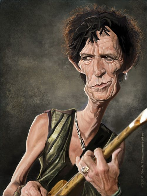 Caricatures by Mark Hammermeister