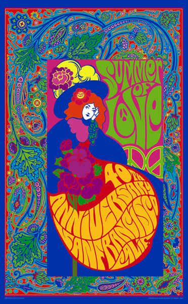 Varsity Strings: 1960's Psychedelic Posters