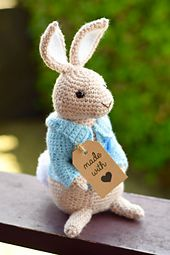 Knitting Pattern For Peter Rabbit Jumper : Ravelry: Craftycharlieannes Peter Rabbit EASTER CROCHET/KNIT Pintere...