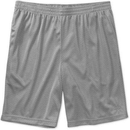 Starter Men's Active Mesh Short, Silver