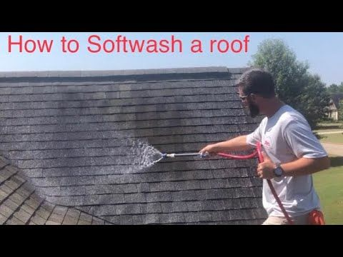 Best Product To Clean Roof Shingles In 2020 Roof Cleaning Gutters Roof Cleaning