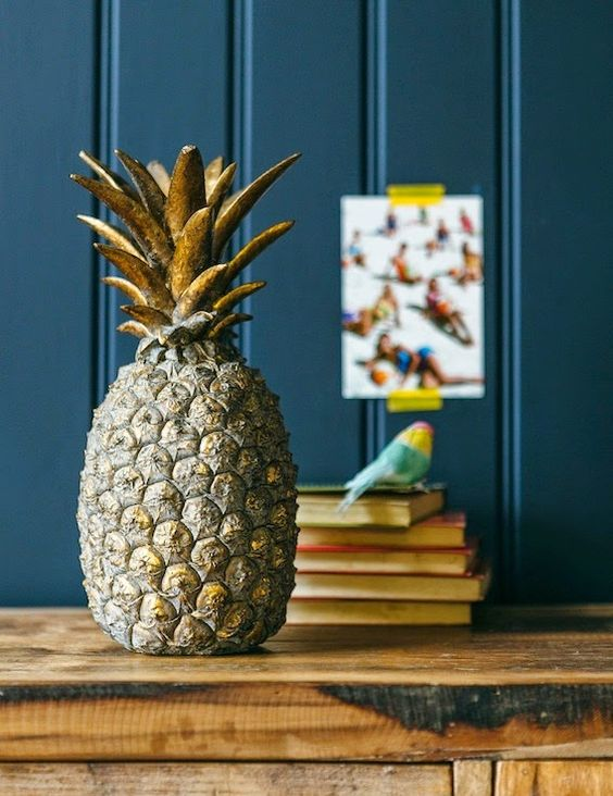 Object of the day: @roseandgrey golden #pineapple