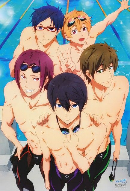 Free! Eternal Summer! Jesus I just realized how much I actually like this anime! I'm literally so freaking excited!: