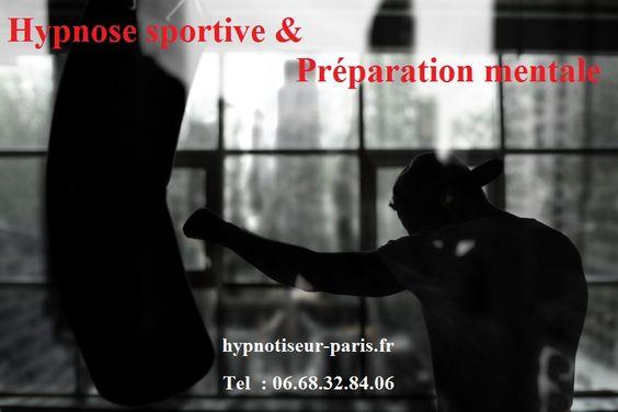 Hypnose sportive & Préparation mentale  hypnotiseur-paris.fr Tel: 06.68.32.84.06