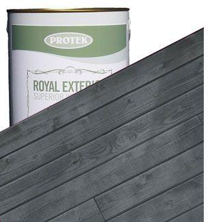 Royal Exterior Wood Finish - Slate Grey