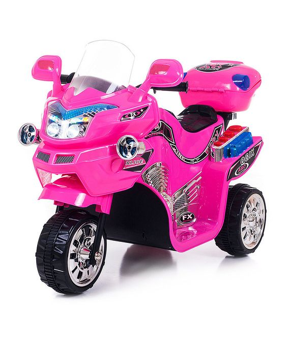 Pink FX 3 Motorcycle Ride-On | zulily
