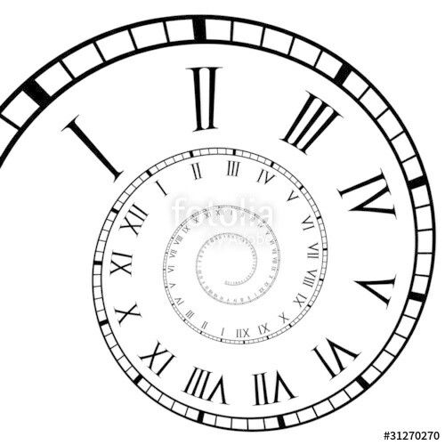 Pin By Kevin Alexander On Spiral Clock Faces Pinterest