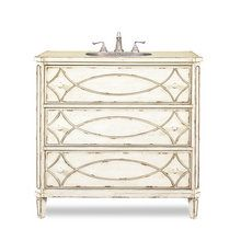 View the Cole and Co 11.23.275537.26 Designer Hand Painted Hardwood Ella Sink Chest at FaucetDirect.com.