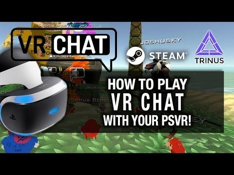 HOW TO PLAY VRCHAT WITH PSVR ON PC Playstation VR, Trinus