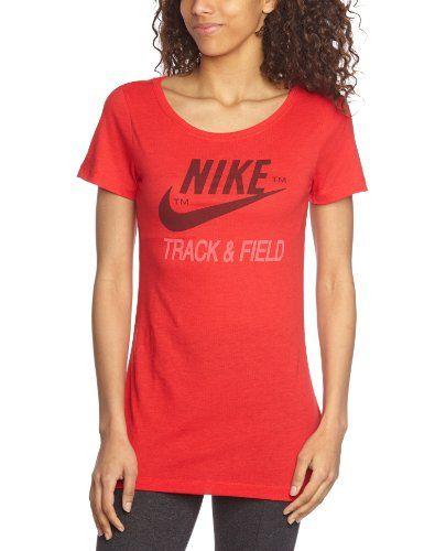 €13.95 in Gr. XS * NIKE Damen kurzärmliges Shirt Track and Field Read Tee