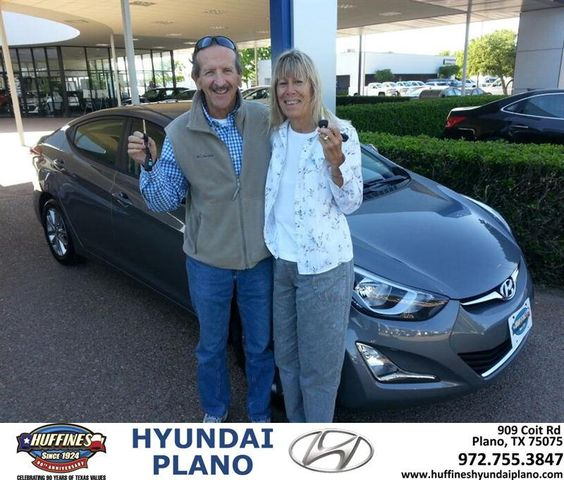 Congratulations to Goerge  Kovitch on your new car purchase from George Kovitch at Huffines Hyundai Plano! #NewCar