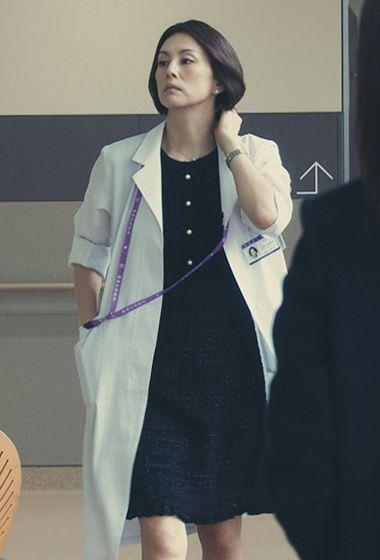 米倉涼子の白衣