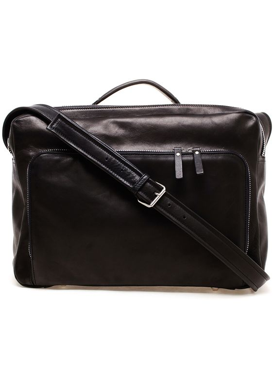 Maison Martin Margiela Soft Leather Document Bag - Browns - farfetch.com