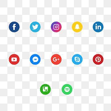 أيقونات وسائل التواصل الاجتماعي أيقونات وسائل التواصل الاجتماعي وسائل التواصل الاجتماعي شعار وسائل التواصل الاجتماعي Png صورة للتحميل مجانا Social Media Icons Media Icon Icon Set Design