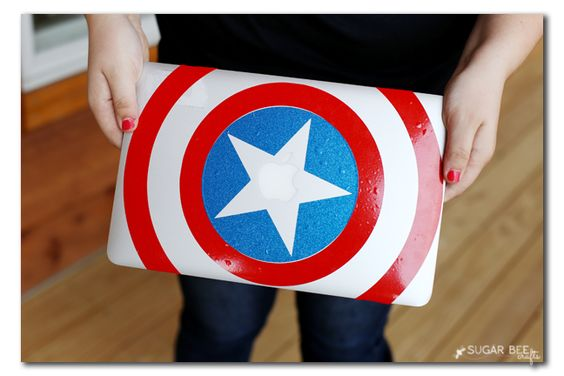 Vinyl Decals for Macbook (or anything!) - Sugar Bee Crafts