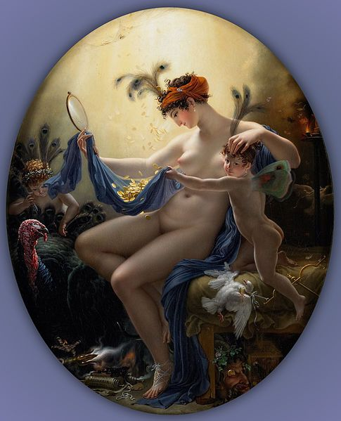 File:Anne-Louis Girodet de Roucy-Trioson - Portrait of Mlle. Lange as Danae - Google Art Project.jpg: