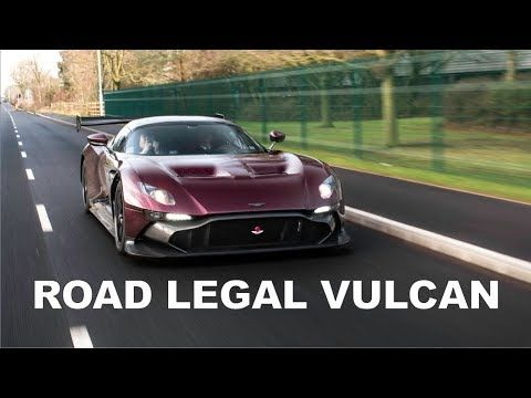 Only Road Legal Aston Martin Vulcan In The World Aston Martin Vulcan Aston Martin Vulcan