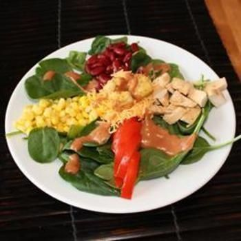 BBQ Chicken Salad food-and-drink