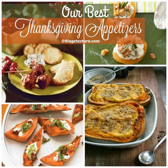 Our Best Thanksgiving Appetizers Recipes Appetizers