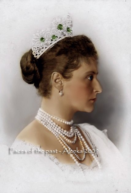 Empress Alexandra Fyodorovna Romanova of Russia (1872-1918), nee Princess Alix of Hesse.