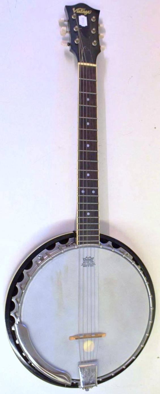 john Hornby skewes JHS vintage banjo guitar banjitar gitjo ukulele corner
