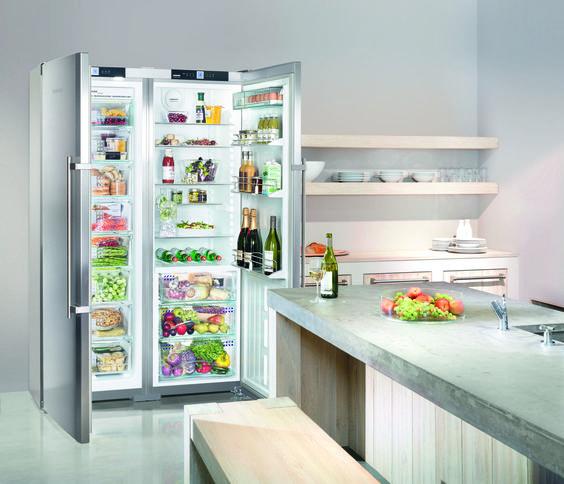 liebherr sbses 7253 premium biofresh nofrost side by side pinterest. Black Bedroom Furniture Sets. Home Design Ideas