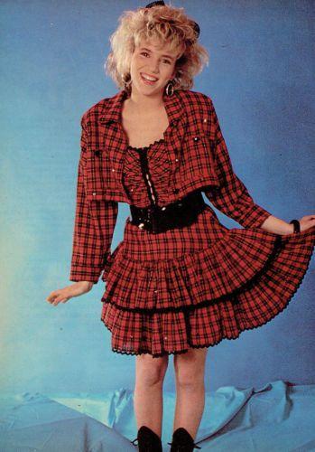 Debbie Gibson teen magazine pinup