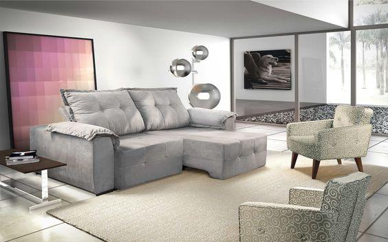 sofá bergamo na decoração