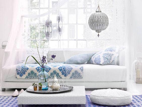 Orientalische Möbel und Wohnaccessoires Salons, Moroccan and